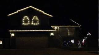 """Jingle Bell Rock"" -- Layton, Utah (House #1236) Christmas Light Show"