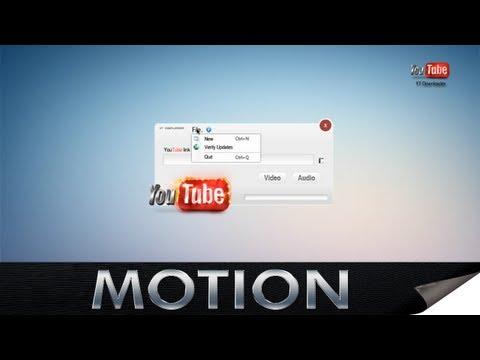 YT Downloader 1.0 - Mockup