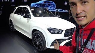 ПЕРВЫЙ ОБЗОР: новый GLE от Mercedes: X5 G05 лучше? Эксклюзив с автосалона в Париже.