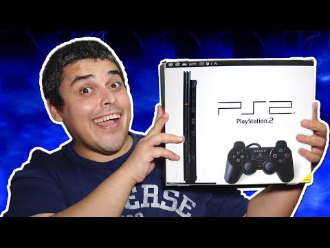 Playstation 2 Unboxing do modelo Slim Japonês