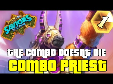 COMBO PRIEST IS STILL GREAT AFTER THE NERFS | GUIDE TO COMBO PRIEST | SAVIORS OF ULDUM | HEARTHSTONE