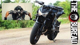 Kawasaki Z800 0-100 kmph Acceleration - INDIA | TGB Acceleration
