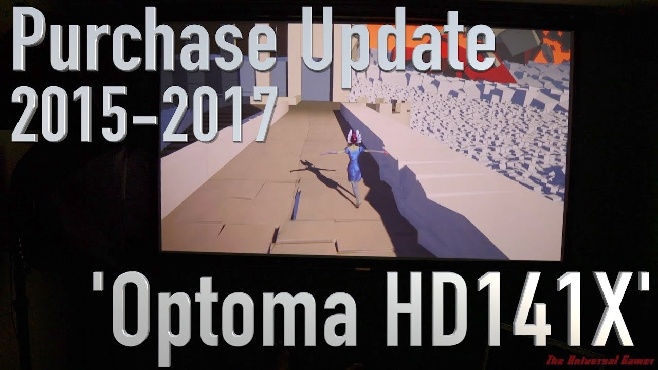 Purchase Update - Optoma HD141X Projector