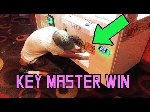 KEY MASTER WIN! + WIN ON AMAZING ROAD TRIP - PRIZE ARCADE