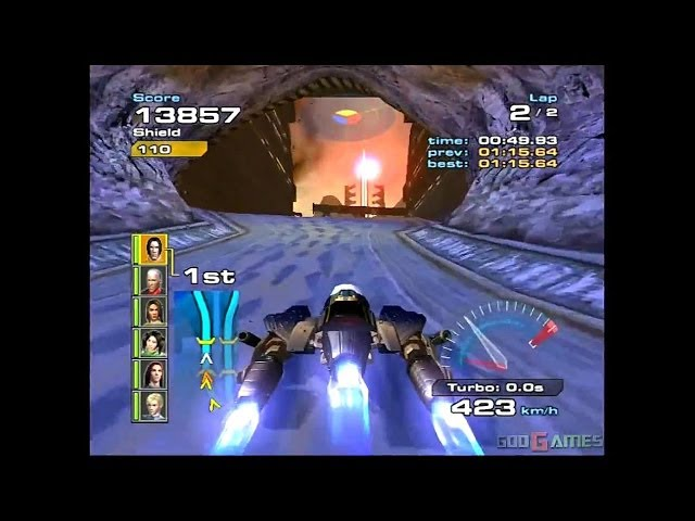 Quantum Redshift - Gameplay Xbox (Xbox Classic)