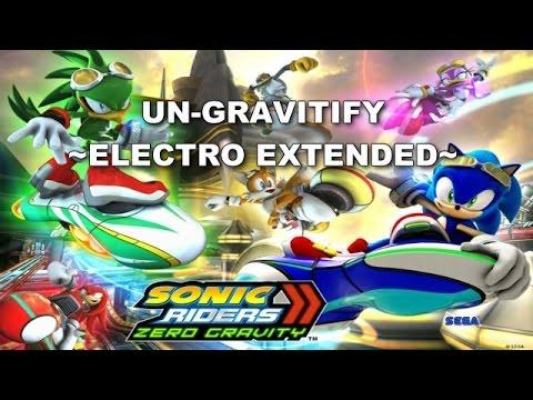 [SONIC KARAOKE] Sonic Riders Zero Gravity - Un-gravitify ~Electro Extended~ [WATCH IN HD]