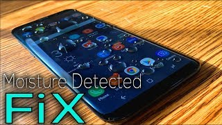 Galaxy s8 Moisture Detected Issue Fix (How to Fix error)