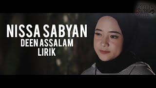 NISSA SABYAN - Deen Assalam (Lirik)