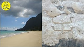 Tourists Were On A Beach In Hawaii When A 400 Year Old Secret Was Revealed Beneath The Sands
