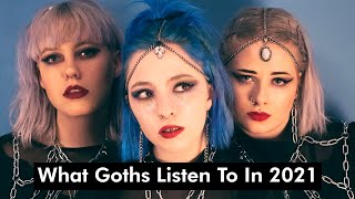 What Goths Listen to in 2021: Spotify's Most-Streamed Dark & Goth Bands [PostPunk/Synth-Wave/Doomer]