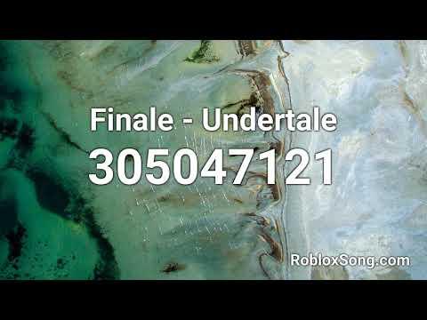 Finale - Undertale Roblox ID - Roblox Music Code