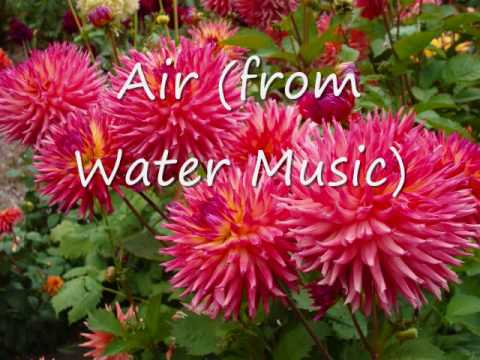 Rebecca King  Air from Water Music Handel