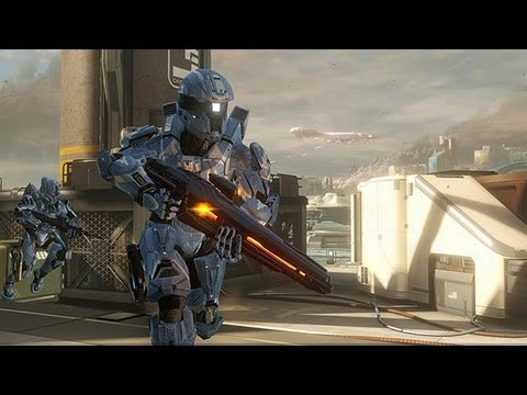 Halo 4 Majestic Map Pack Landfall Youtube