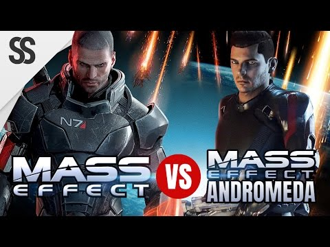 Mass Effect 1 vs. Mass Effect: Andromeda (Comparison of ME 1 and ME:A)