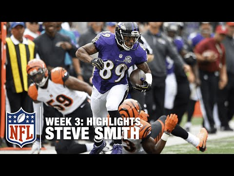 Steve Smith Highlights (Week 3) | Bengals vs. Ravens | NFL