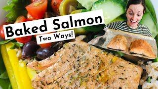 Easy Baked Salmon Recipe