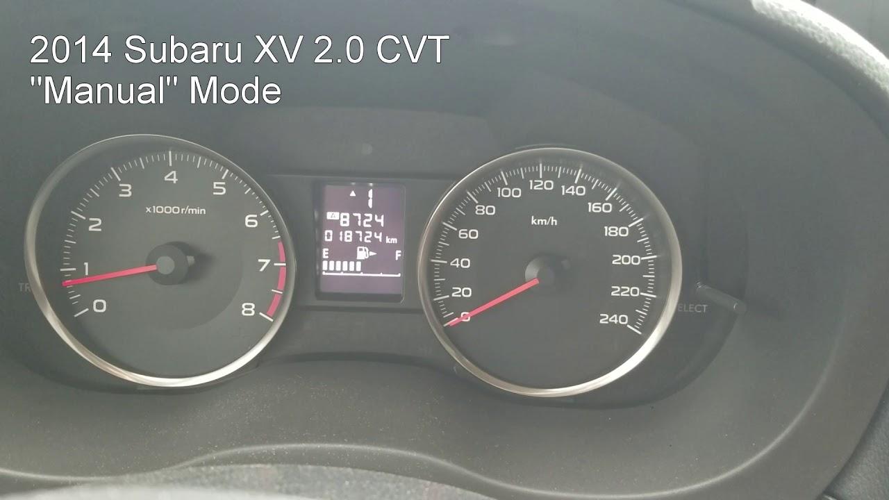 2017 Subaru Xv 2 0 Cvt Acceleration 60 100