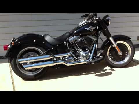 Screaming Eagle Exhaust Sound - Harley Fatboy Lo
