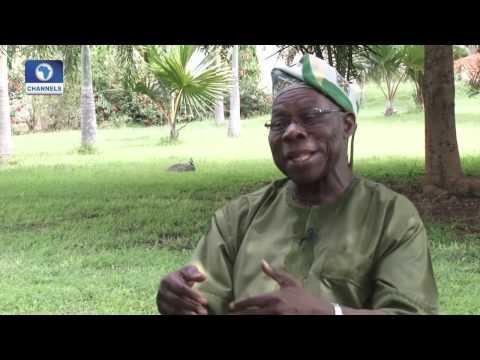 Channels Book Club 010915 Obasanjo's Take On Soyinka
