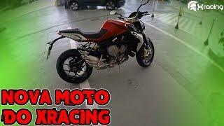 MOTO NOVA! PRIMEIRO MOTOVLOG DO XRACING!