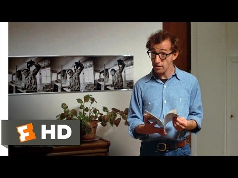 Annie Hall (10/12) Movie CLIP - There's a Spider in the Bathroom (1977) HD
