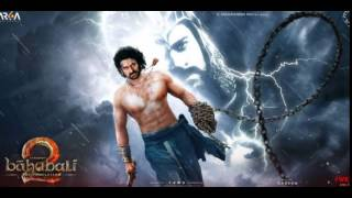 Bahubali 2 first look poster with background music