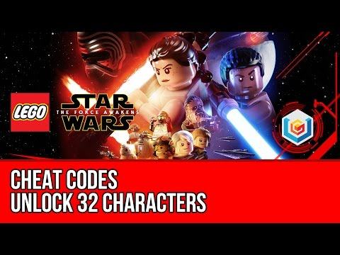 LEGO Star Wars The Force Awakens - Cheat Codes (Unlock 32 Characters)