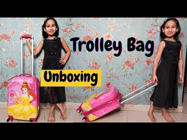 Trolley bag unboxing in Hindi / Travel Bag / #unboxing #learnwithpari