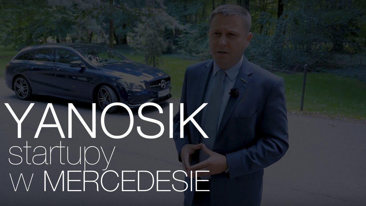 Startupy w Mercedesie: Yanosik
