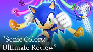 Sonic Colors: Ultimate Review [PS4, Switch, Xbox One & PC] (Video Game Video Review)