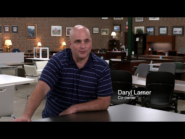 Larner's Pre-owned used office furniture in Charlotte, NC
