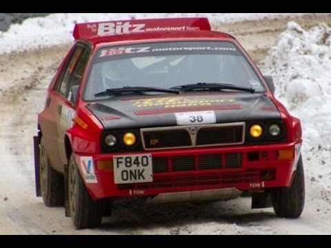 lancia delta integrale listing 28236 rally car for sale - youtube