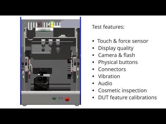 OptoFidelity™ Test Factory - A modular All-In-One tester for smartphones