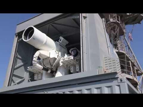 Боевой лазер США.