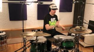 61294 Smooth Poly Brush - on Drums