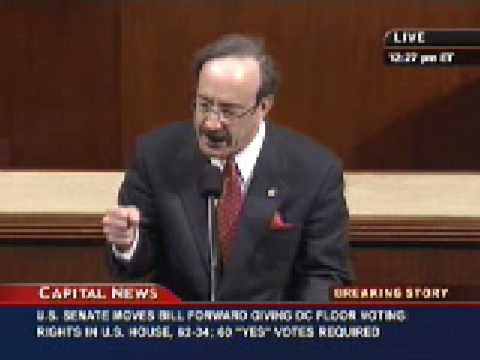 Rep. Eliot Engel - Obama State of the Union - February 2009