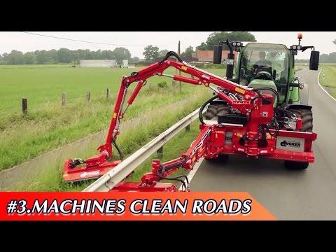 Amazing Modern Machines Cleaning Roads; World Latest Technology Heavy Equipment Machine Construction