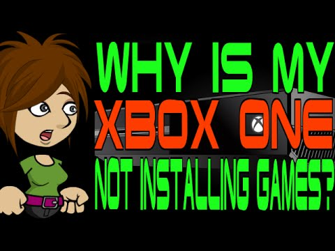 Why Is My Xbox One Not Installing Games Youtube