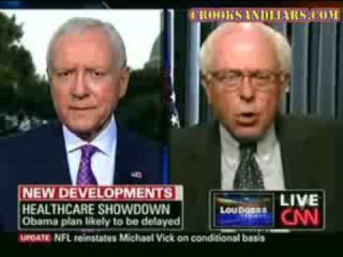Sen Bernie Sanders Gives Orrin Hatch a Nice Big Helping of STFU Over Health Care Reform
