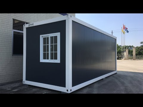 2019 New Flat Pack Container House 2 Hour Install One House