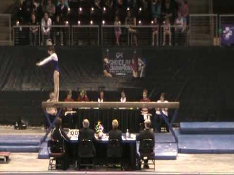 Casey Dreyer - Beam 9.55, Level 10 Regionals 2010 ...
