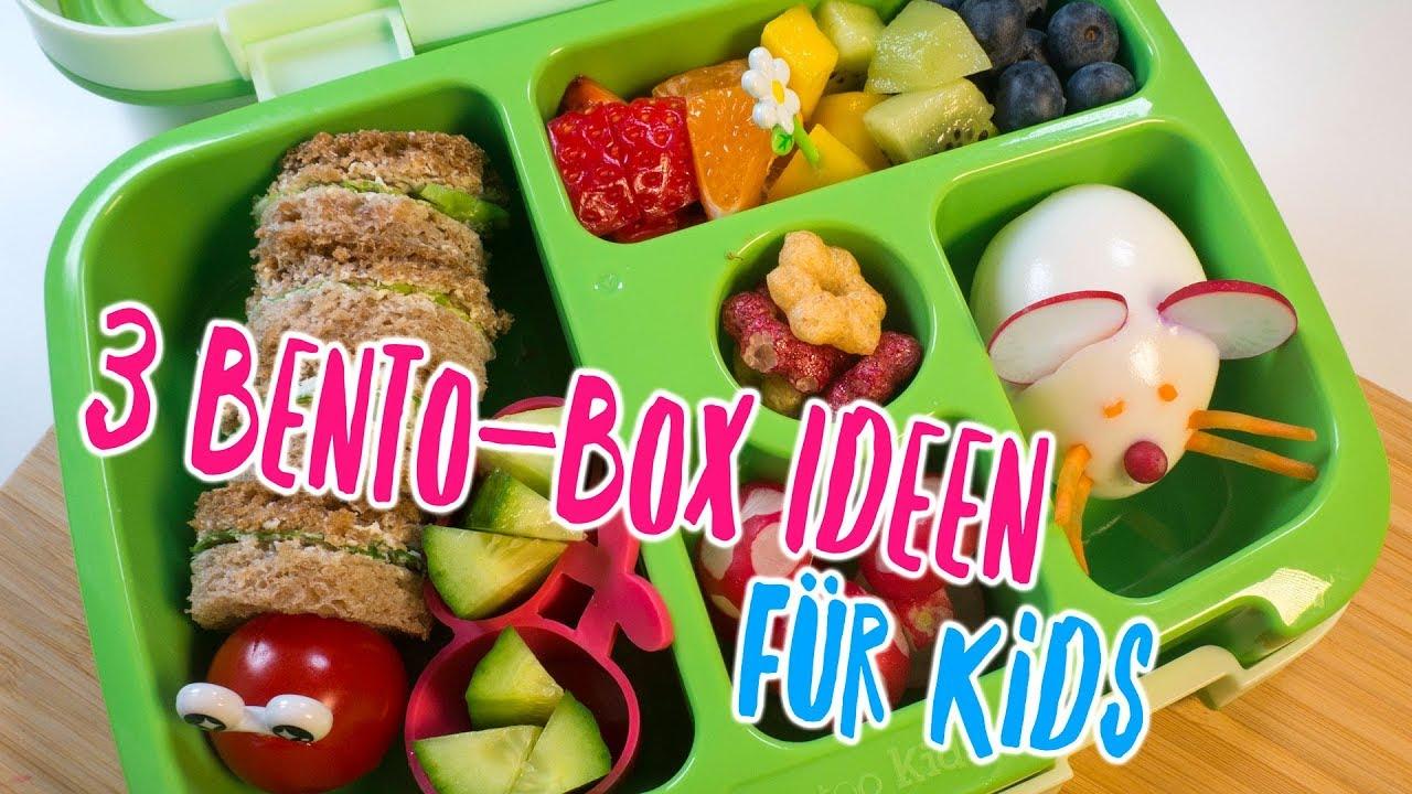 3 tolle bento box ideen f r kids fr hst ck und snacks. Black Bedroom Furniture Sets. Home Design Ideas
