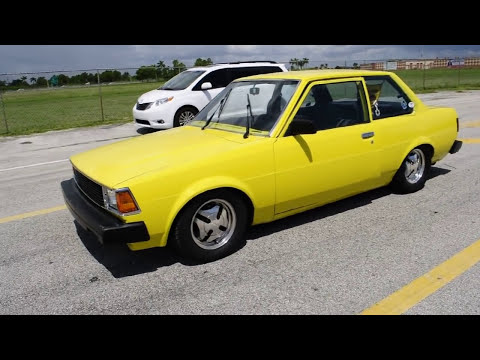 1982 Toyota Corolla 1 8 2 Door Youtube