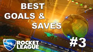 ROCKET LEAGUE - EDIT OF BEST MOMENTS MONTAGE - #EP3 - EPIC GOALS & SAVES