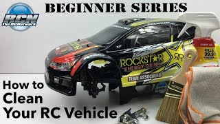 RC Beginner Series - How to Clean Your RC