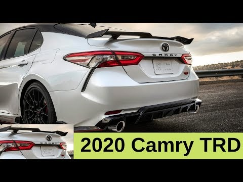 Adrenaline Enthusiasts Cannot Wait for 2020 Toyota Camry TRD