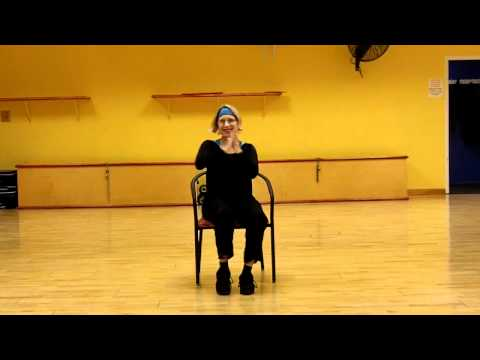 Zumba gold chair routine youtube for Chair zumba