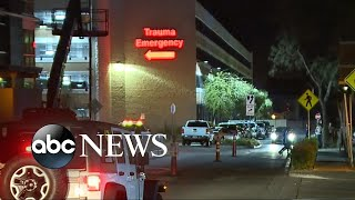 Las Vegas hospitals were inundated with victims of mass shooting