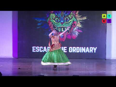 Kathak Dance Performance by Med Student from Kanpur | Pulse 2018