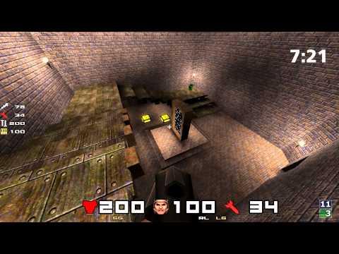 QuakeCon 1997 Winner Rix Vs sCary on dm6 QuakeWorld 1997 1080p 4k